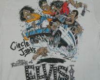 CIRCLE JERKS 1988 THE RETURN OF ELVIS TOUR