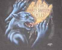 HARLEY DAVIDSON 3D EMBLEM PANTHER  Soft Thin