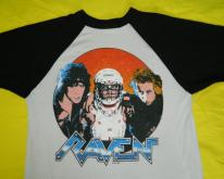 RAVEN 1985 STAY HARD TOUR JERSEY  80s