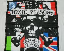 TOXIC REASONS DEDICATION 1979-1988  80s punk