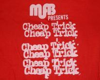 CHEAP TRICK SECURITY 80S TOUR  concert