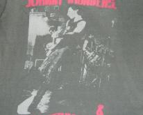 JOHNNY THUNDERS 1984 TOUR  80s concert