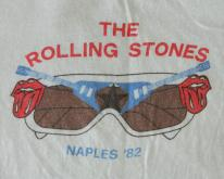 The ROLLING STONES NAPLES '82 CONCERT  tour
