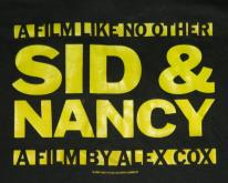 NOS SID & NANCY 1986 MOVIE PROMO  vicious