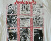 ADOLESCENTS 80S  TOUR BLACK FLAG CIRCLE JERKS