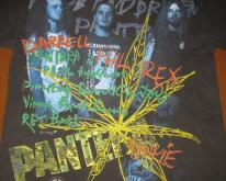 1993 PANTERA THE GOOD THE BAD AND THE VULGAR VINTAGE T-SHIRT