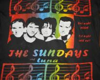 1993 THE SUNDAYS & LUNA TOUR   SHOEGAZE