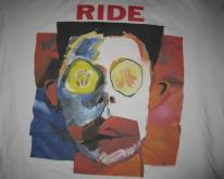 1992 RIDE GOING BLANK AGAIN VINTAGE T-SHIRT