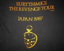 1987 EURYTHMICS REVENGE JAPAN TOUR VINTAGE T-SHIRT