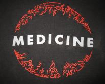 1992 MEDICINE SHOT FORTH SELF LIVING  TSHIRT SHOEGAZE
