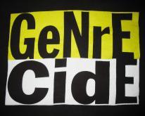 1993 GENRECIDE COMPILATION VINTAGE T-SHIRT