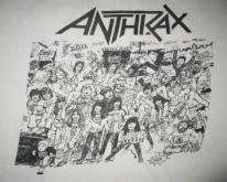 80s ANTHRAX NO FRILLS VINTAGE T-SHIRT