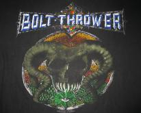 1992 BOLT THROWER EUROPEAN TOUR