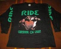 1994 RIDE CARNIVAL OF LIGHT VINTAGE LONG SLEEVE T-SHIRT