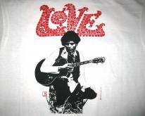 80s LOVE ARTHUR LEE VINTAGE T-SHIRT FOREVER CHANGES