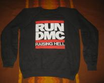 1986 RUN DMC RAISING HELL  SWEATSHIRT HIP HOP