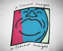 1982 ALTERED IMAGES PINKY BLUE ERA VINTAGE T-SHIRT 80s