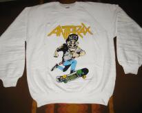 1987 ANTHRAX MOSH IT UP  SWEATTHRASH METAL