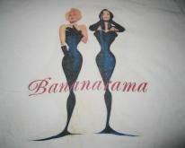 1992 BANANARAMA MOVIN ON VINTAGE T-SHIRT SYNTH POP
