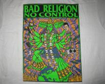 1990 BAD RELIGION NO CONTROL KALI ELVIS