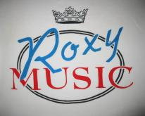 70s ROXY MUSIC VINTAGE T-SHIRT BRYAN FERRY BRIAN ENO