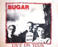 1992 SUGAR COPPER BLUE TOUR VINTAGE T-SHIRT HUSKER DU