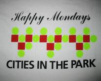 1991 HAPPY MONDAYS CITIES IN THE PARK