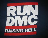 1986 RUN DMC RAISING HELL VINTAGE T-SHIRT HIP HOP