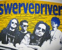 1993 SWERVEDRIVER AUSTRALIAN TOUR VINTAGE T-SHIRT