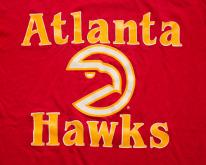 80s Atlanta Hawks NBA Team Logo , Soft & Thin