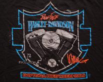80s Harley-Davidson , Willie G V2 Evolution Motor Tee