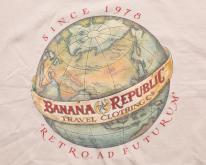 1988 Banana Republic , Retro Ad Futurum World