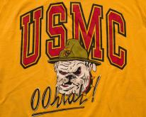 USMC Oohrah Bulldog ,  80s, US Marines USA Dog