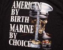 American by Birth Marine Choice , M, 3D Emblem 90s