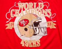 80s San Francisco 49ers 1988 World Champions