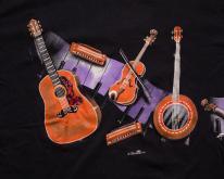 90s Hazelwoods  Acoustic Guitar Banjo Violin
