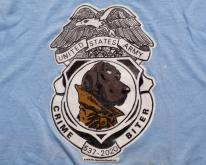 McGruff Dog Crime Biter , United States Army, 80s