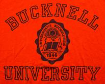 80s Bucknell University , Orange College Apparel