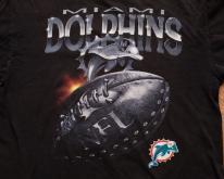 90s Miami Dolphins Logo , 3D Chrome-Style