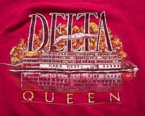 80s Delta Queen Mississippi Steamboat Swea