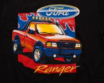 Ford Ranger XL Truck , USA American Flag, 90s Vehicle