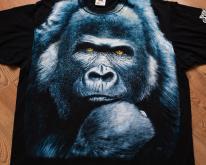 90s Gorilla Busch Gardens , Extinction Is Forever