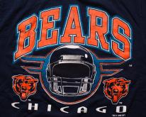 Chicago Bears ,  90s, NFL Team Apparel, Logo 7