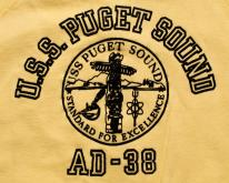 USS Puget Sound AD-38 Raglan Swea Destroyer Ship