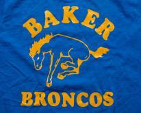 Baker Broncos , ELM School Team Mascot, Bucking Horse