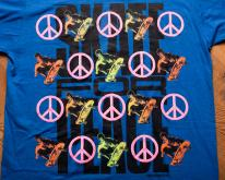 1989 Skate for Peace , Punk Grunge Skater Apparel 80s