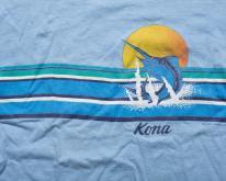 80s Kona Hawaii Marlin , Ocean Beach Sunset