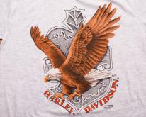 3D Emblem Harley-Davidson Eagle , 1991 Graphic Tee