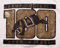 Army Football , 100 Years, 1890-1990, Mule Logo, 90s