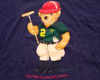 Ralph Lauren Polo Bear , XL, Polo Player,  90s